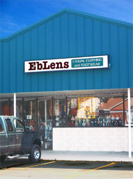 clothing accessories other eblens casual clothing and footwear stores